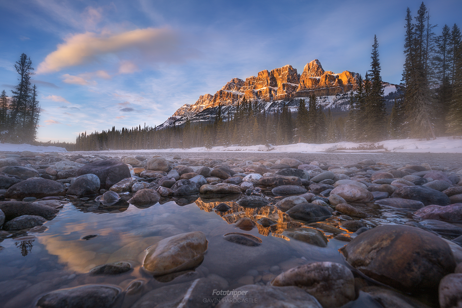 Castle Mountain - Banff Photography Workshop with Gavin Hardcastle