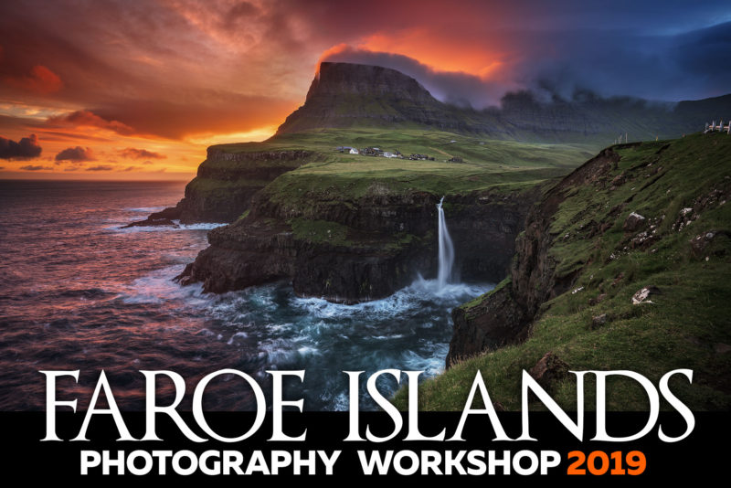 Mullafossar Waterfall, Faroe Islands Photography Workshop