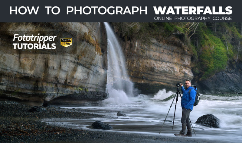 How to Photograph Waterfalls - Online Photography Course