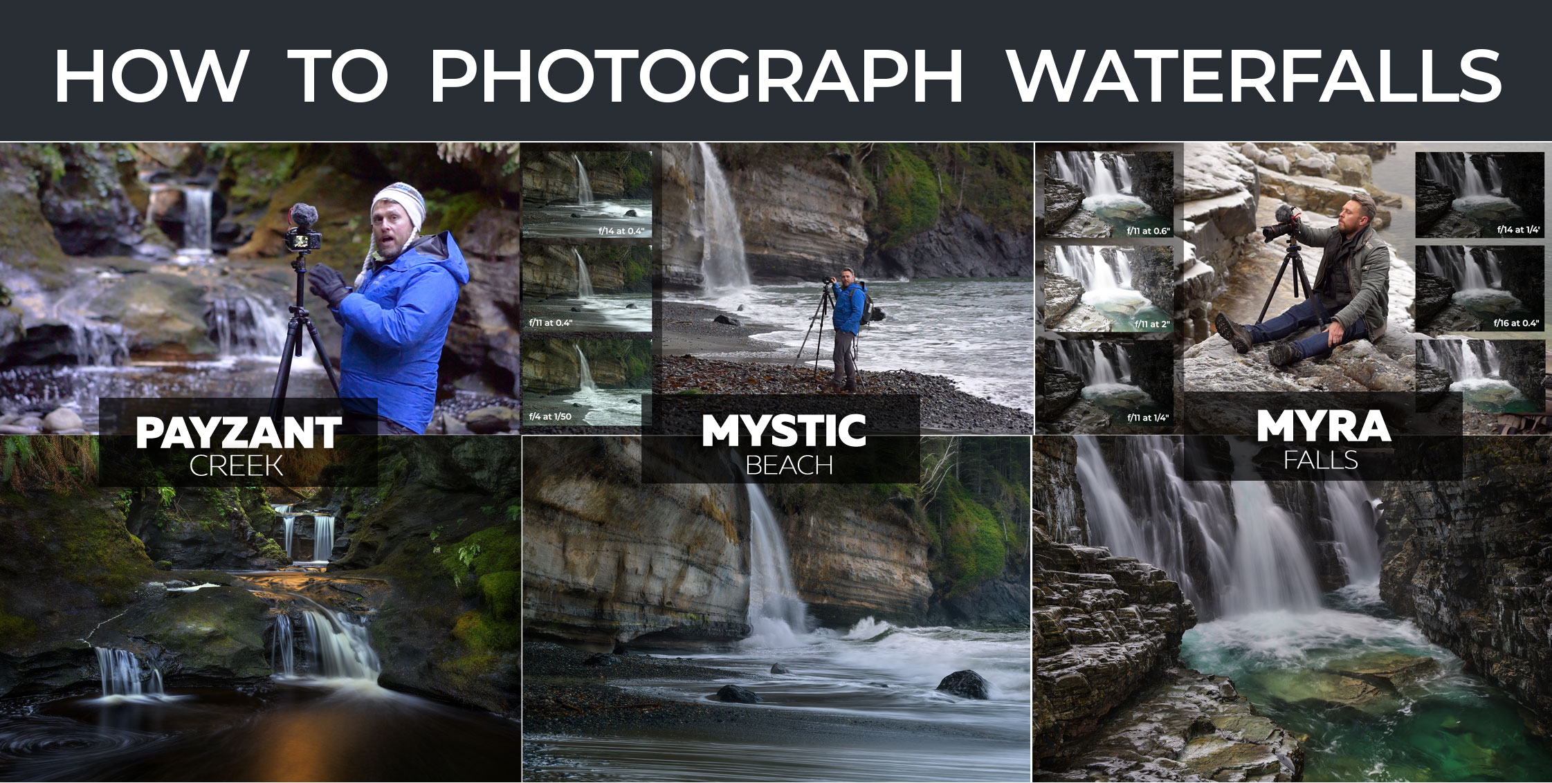 How to Shoot Waterfalls - Online Photography Tutorials