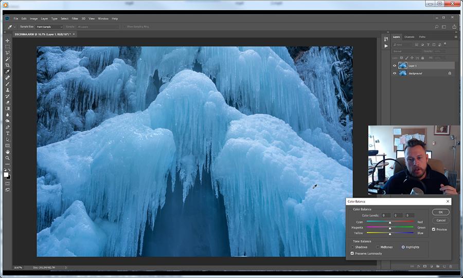 Lupin Falls - Photoshop Tutorial