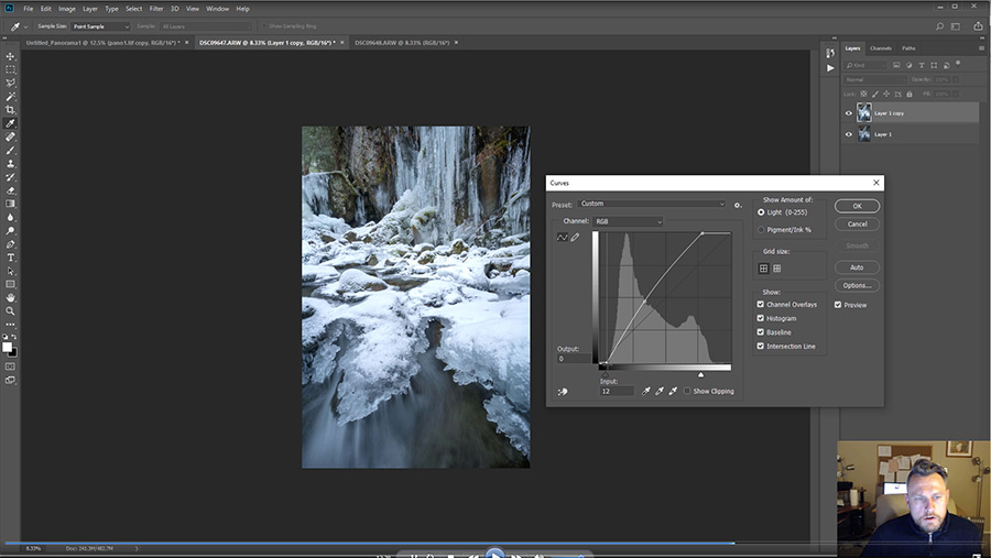 Frozen Waterfall Photography - Photoshop Tutorials - Fototripper