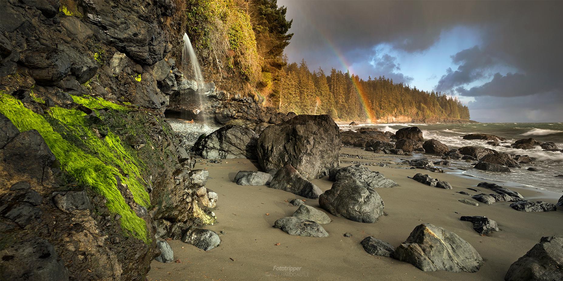 Mystic beach vancouver island photo workshop
