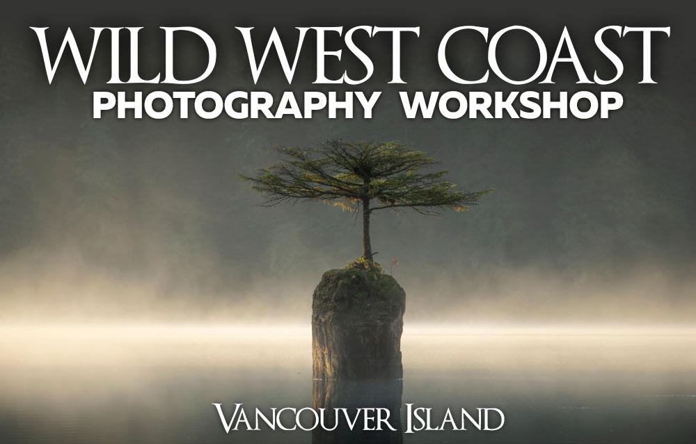 Wild West Coast Photography Workshop with Gavin Hardcastle and Adam Gibbs